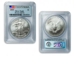 Numis Network 2010 MS70 PCGS Silver American Eagle (First Strike)