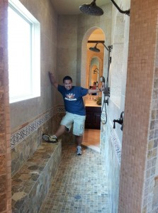Walk in shower designs are real for Walk through shower plans
