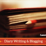 diary writing and blogging